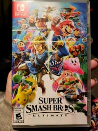 Super smash brothers never opened  Reston