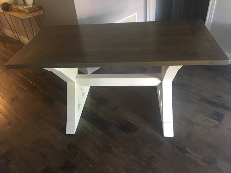 Farmhouse Style Kitchen Dining Table a8657d39-4d3c-421f-9f18-64e9a70f51ef