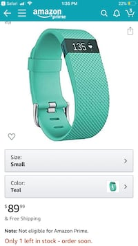 Fitbit Charge HR Damascus, 20872