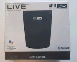 Bluetooth Smart Speaker - Altec Lansing- Brand New