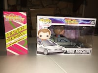 Back to the Future Time Machine w/ Marty Funko Pop Figure Vehicle Augusta, 30909