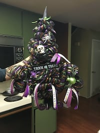 Witch hat wreath Tracy, 95376