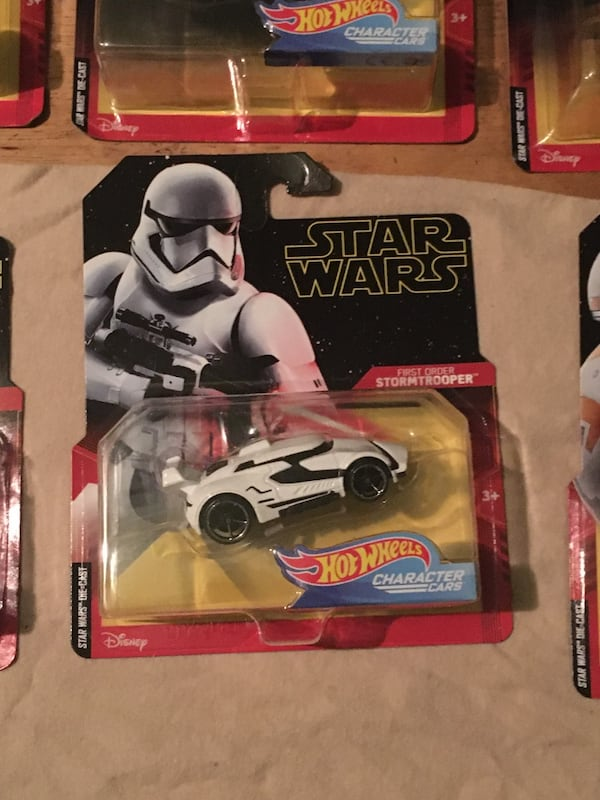 Used 2019 Star Wars Rise Of Skywalker Hot Wheels Special Edition For Sale In Whittier Letgo