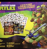 nickelodeon tmnt my big box of stickers 205 mi