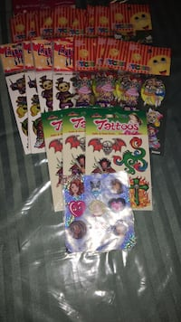 $2 for all: tattoos and stickers  Toronto, M8Y 1R7