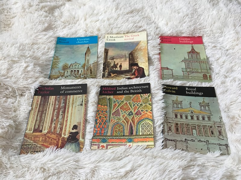 7 RIBA British  Architecture History books 9ee140a3-5275-4d41-8862-4bf2ae60af29