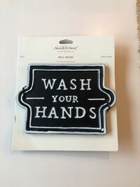 "Wall decor- ""wash your hands"" Andover, 55304"