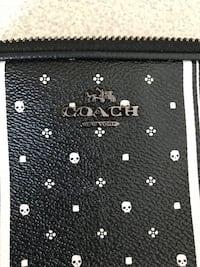 black and white leather wallet Anchorage, 99504