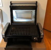 black and gray electric grill Vancouver, V6C