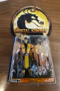 Rare Scorpion Action Figurr Vaughan, L4K 4A5