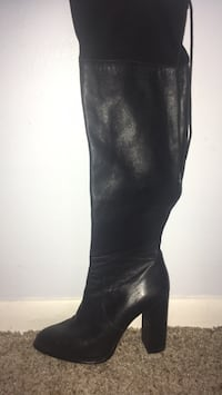 over the knee boots /black size:7.5 Lansing, 48912