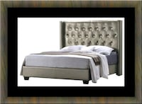 8611 platform bed high quality frame Woodbridge, 22191