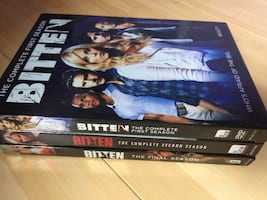 Bitten the complete series on Dvd