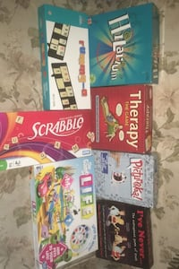 Board games 10 each or 50 for all Halifax, B3R 1H2