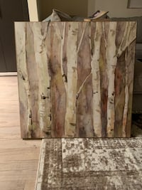 "Tree bark wall art 2'10"" x 2'10"" Arlington, 22201"