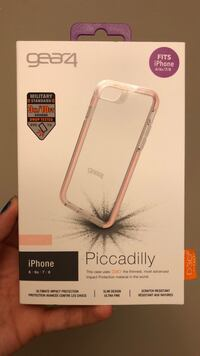 White and pink iphone case box Winnipeg, R3C 2A2