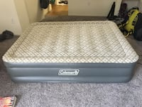 Coleman queen-sized air mattress Denver, 80203