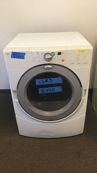 white front-load gas dryer  Concord, 94520