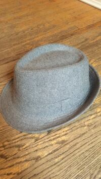 All grey fedora. Nice material