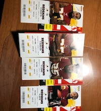 redskins tickets, 4 home games. 350 for all 4. price negotiable.  Mount Vernon, 22309