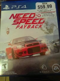 Need for Speed Rivals PS4 game case