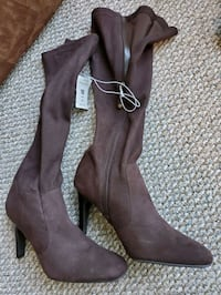 New Ladies brown Boots, Sz. 10