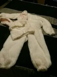 Bunny Costume...size 6 Vaughan