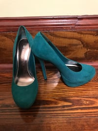 Bakers teal pumps Totowa, 07512