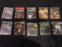 Ps3 games for sale Barrie, L4N 4Z8