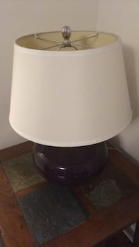 white and black table lamp Toronto, M4A 2Y3
