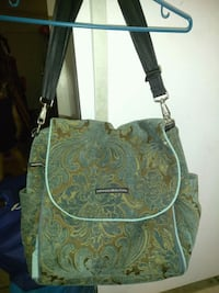 green and brown floral crossbody bag Ontario, 91764