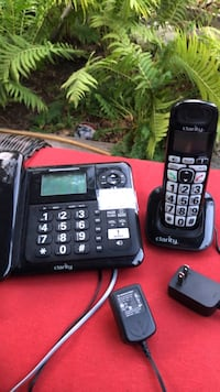 2  amplified sound cordless phone sets