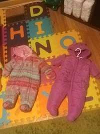 X2 baby snowsuit $10 for both Mississauga, L5C 2K3