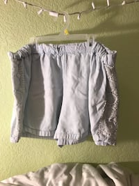 Light blue/white shorts Brownsville, 78521