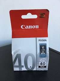 Brand new unopened Canon PG-40 Black Ink Cartridge Washington