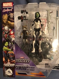 Marvel guardian of the galaxy gamora action figure set in box