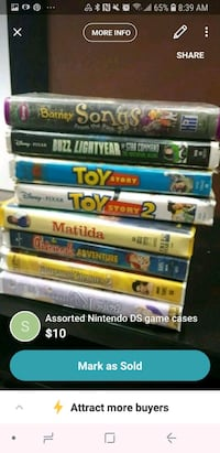 assorted Nintendo DS game cases Vancouver, V5X 1N4