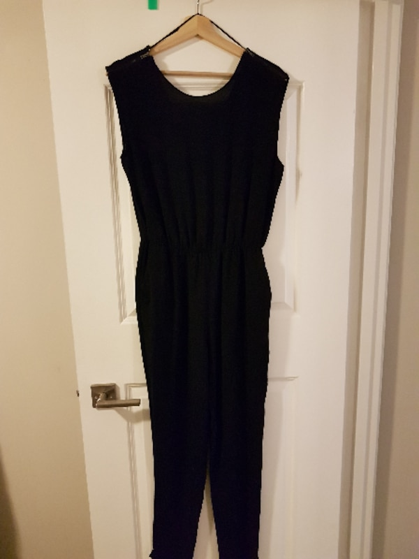 9e652a3551a9 Used Zara black jumpsuit for sale in VANCOUVER - letgo