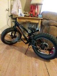 black and red hard tail mountain bike Rossville, 30741