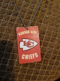 KC Chiefs dig tags