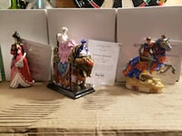 """5"""" mini Royal Doulton dolls with certificate  Mississauga, L5L 2P5"""