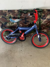toddler's blue and red bicycle Simi Valley, 93063