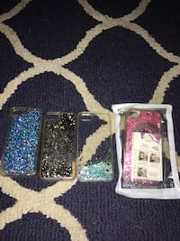 four assorted color iPhone cases Harvey, 70058