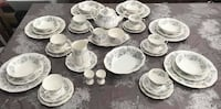 Royal Albert Silver Maple 45pc Dinner and Tea Set Surrey, V3W 1H9