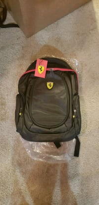 NEW Ferrari Officially Licensed Backpack Silver Spring, 20905