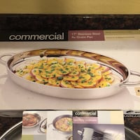 "17"" Stainless Steel Au gratin Pan  San Jose, 95136"