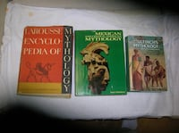 Three (3) Books on Mythology Springfield