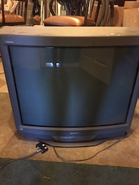 Black and gray crt tv Knoxville, 37922