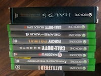 assorted Xbox One games Sarnia, N7T 4C1