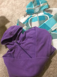 purple and teal zip-up hoodie Winnipeg, R2X 1M4